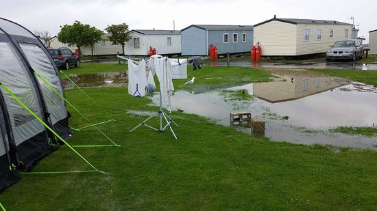 Reighton Sands Holiday Park - Haven: 2 of our original flooded pitches