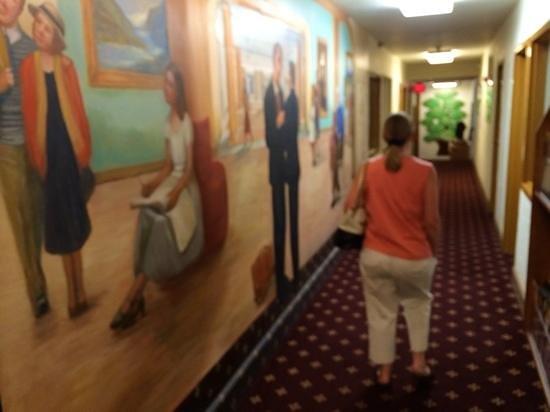 mural in the Boulder Dam Hotel.