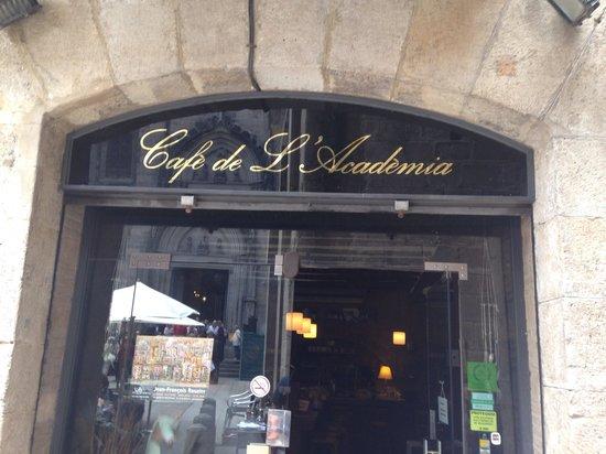 Cafe De L'Academia : Storefront