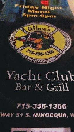 Albee S Yacht Club Minocqua Restaurant Reviews Phone Number Photos Tripadvisor