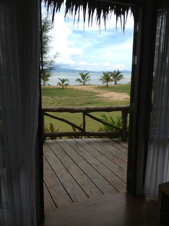 Betterview Bed Breakfast & Bungalow : View from the bed