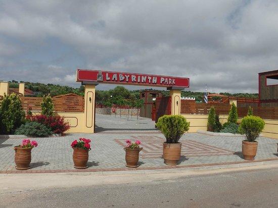Перед входом в лабиринт - Picture of Labyrinth Theme Park ...