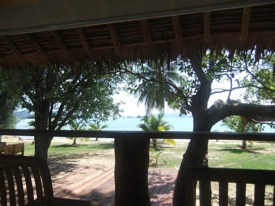 Betterview Bed Breakfast & Bungalow: View from the restaurant
