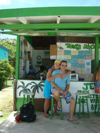 Jewel's Snack Shop: Great place to spend some time while on Jost!