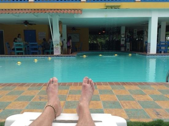 Las Lajas Beach Resort: now this is relaxation, Las Lajas style!