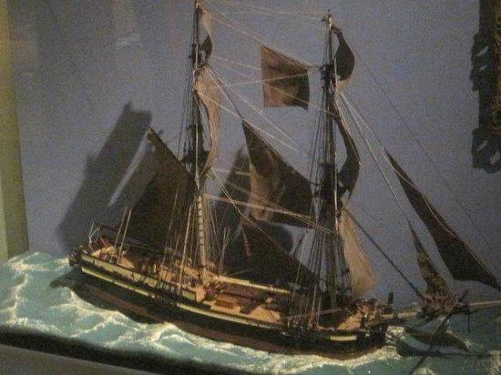 Museum of London Docklands : Fantastic models.