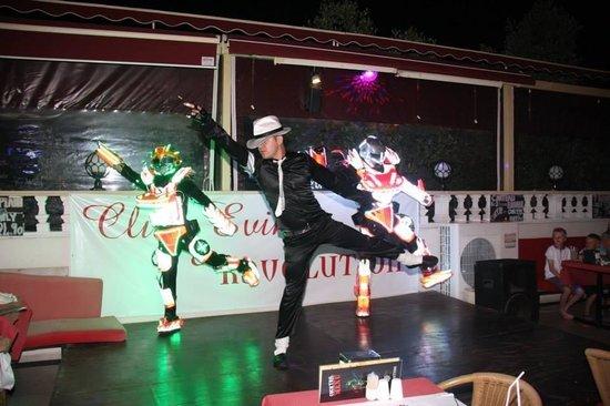 Club Evin Marmaris: Saturday night show
