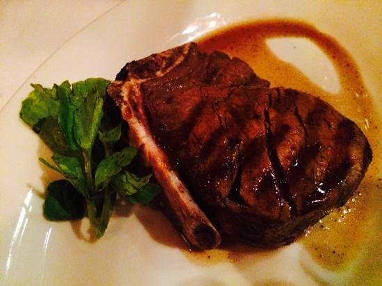 Morton's The Steakhouse: Fillet Mignon on the bone