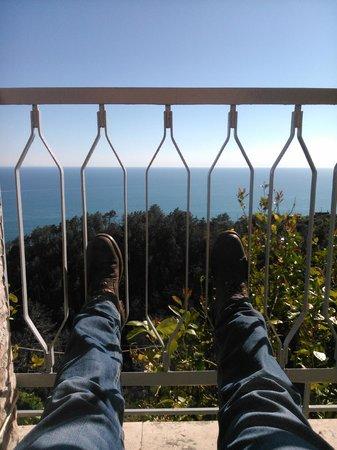 Due Gemelli: Farniente sur la terrasse.