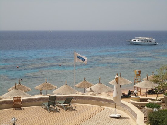 Hyatt Regency Sharm El Sheikh Resort: seaside location
