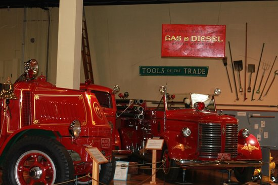 Fire Museum of Maryland: Moving closer to modern automotive equipment