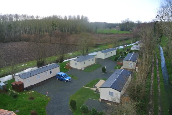 Camping Le Moulin: Vie of some of our mobile homes