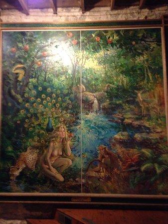 Mud Street Cafe: The garden of Eden