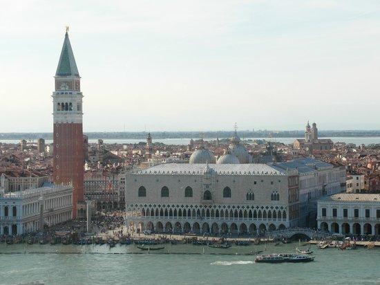 San Giorgio Maggiore: Palazzo Ducale e Campanile di San Marco