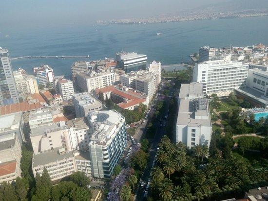 Hilton Izmir: view