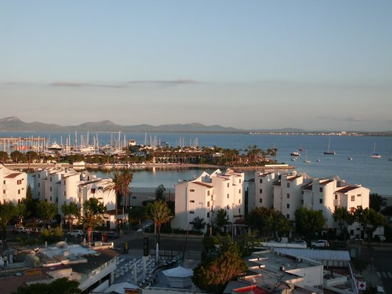 Globales Condes de Alcudia: View from our room