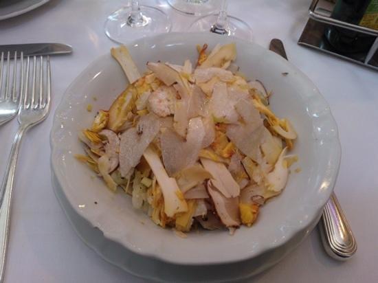 Ristorante da Nello : antipasto di porcini e ovuli freschissimi!