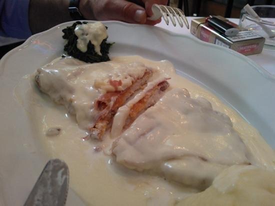 Ristorante da Nello : la meravigliosa cocoletta alla Bolognese! un sogno!