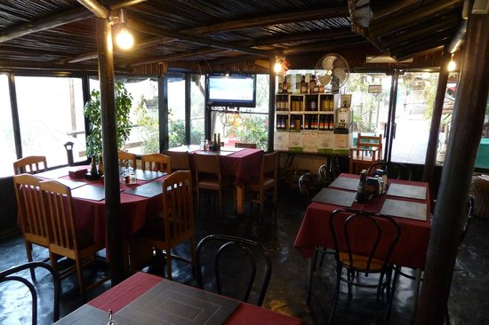 Curacavi, Şili: Der Gastraum