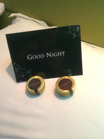 London City Suites By Montcalm: Mints on our pillow