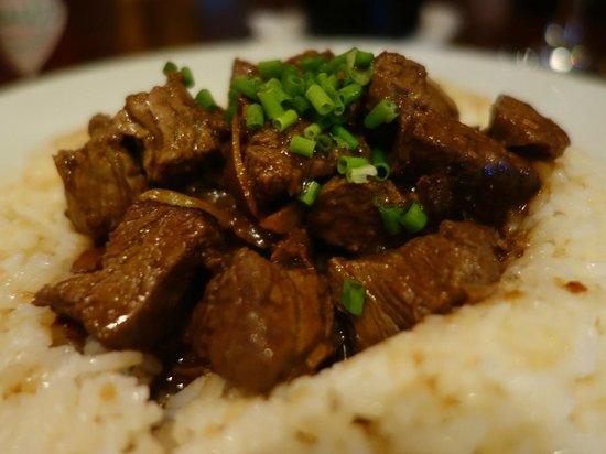 Cafe Adriatico: Beef on Garlic Rice