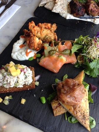 Fish Platter - Gallery Cafe Gort