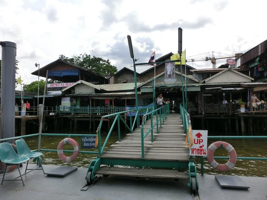 Templo del Amanecer (Wat Arun): Tha Tien Pier