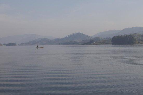 Bushara Island Camp: View from the Island
