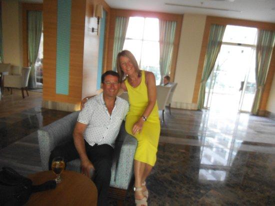 Sherwood Breezes Resort : lobby bar