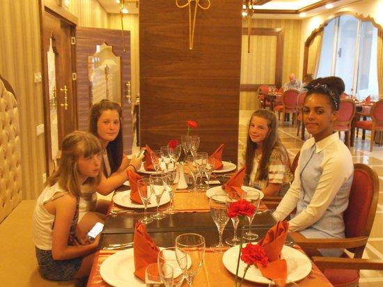 Sherwood Breezes Resort : turkish a la carte