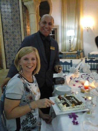 Medina Belisaire & Thalasso: Birthday surprise