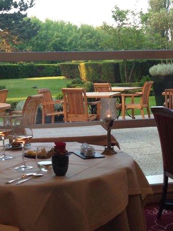 Le Pavillon : Le cadre très romantique, un havre de paix