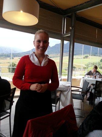 Guardian Peak: Margo, our lovely waitress.