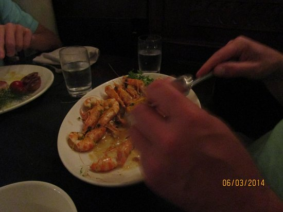 Osteria alle Testiere : Prawns - so good I couldn't get a picture without someone eating them!