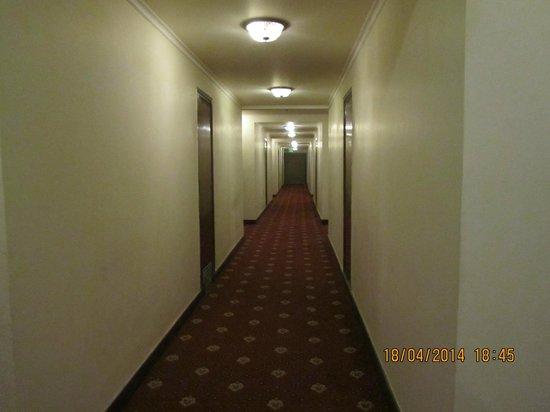 Hotel Chandela: pasillo