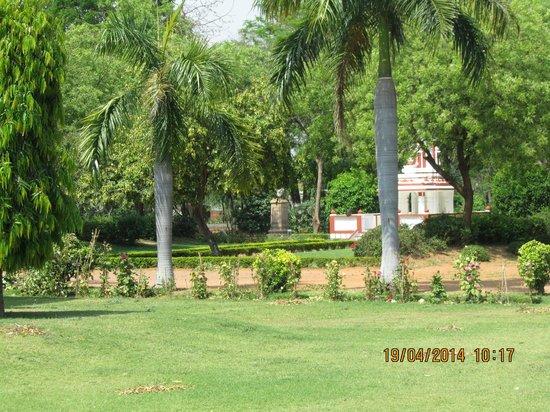 Hotel Chandela: jardín