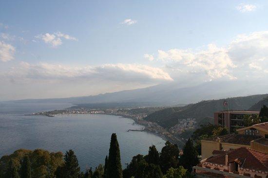 Hotel Villa Belvedere: Vue depuis le balcon de la suite