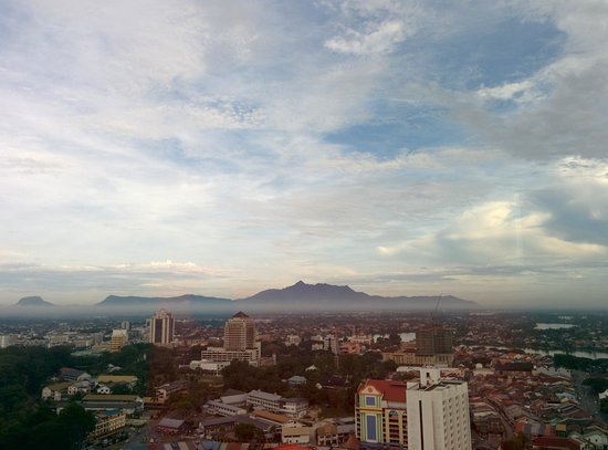 Pullman Kuching: View from executive lounge