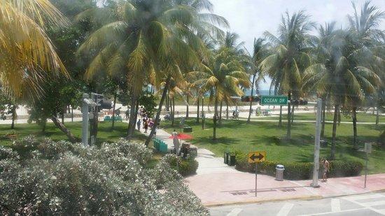 Avalon Hotel: My window view