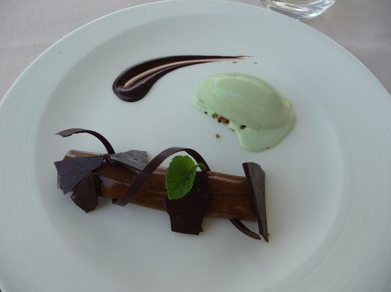 La Guérinière : Menthe chocolat, toujours un heureux mariage !!