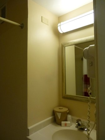 Red Roof Inn Chicago Downtown - Magnificent Mile: salle de bain