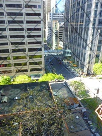 Red Roof Inn Chicago Downtown - Magnificent Mile: vue d'une fenêtre
