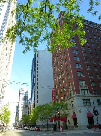 Red Roof Inn Chicago Downtown - Magnificent Mile: autre vue de l'hôtel