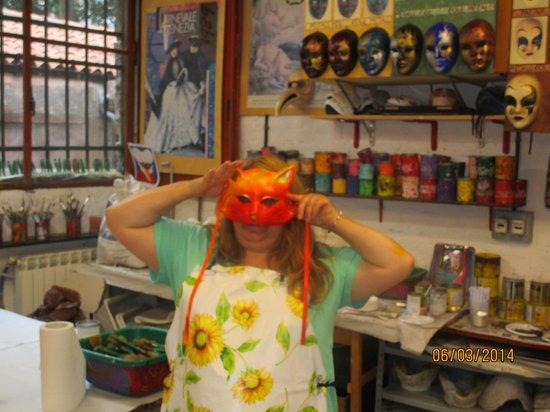 Ca' Macana: My mask