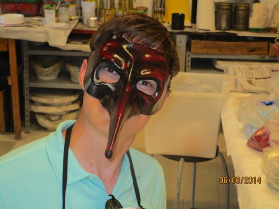 Ca' Macana: Hayden's mask