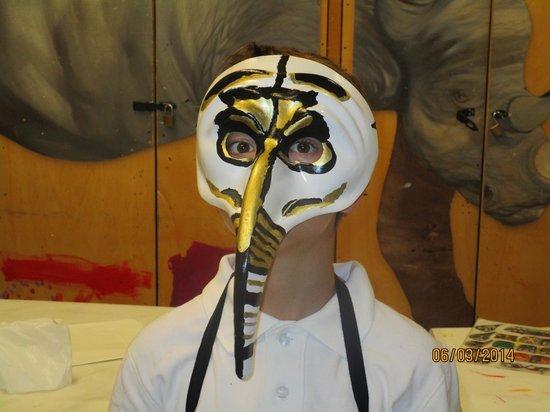 Ca' Macana: Nolan's mask