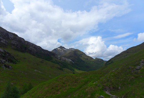 Up and Doon Guided Walks: snow on the tops
