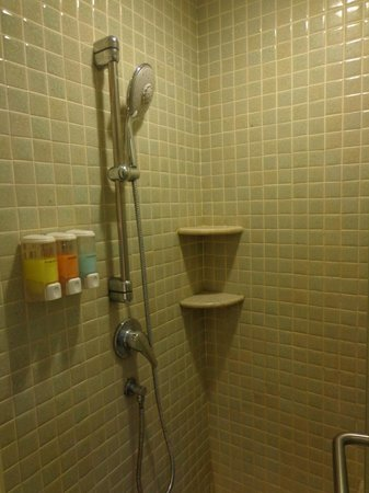 Duangjitt Resort & Spa: The compact bath area
