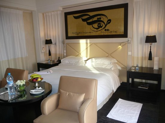 Hotel & Ryads Barriere Le Naoura Marrakech: la chambre