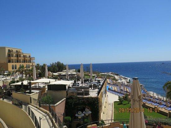 Marina Hotel Corinthia Beach Resort: Overlooking St Georges Bay